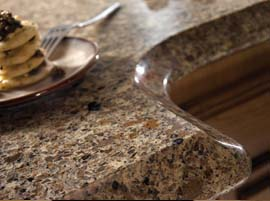 Sienna Ridge Countertop with Ogee Edge Profile